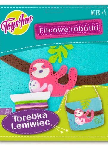 Zdjęcie Zestaw kreatywny - Torebka mała Leniwiec niebieska - producenta STNUX