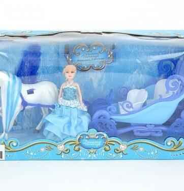 Zdjęcie Zestaw lalka z karocą i jednorożcem - producenta ADAR