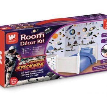 Zdjęcie Zestaw naklejek do dekoracji pokoju Space Adventure Walltastic - producenta WALLTASTIC