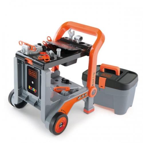 Zdjęcie Zestaw narzędzi na wózku Black&Decker - Smoby - producenta SMOBY