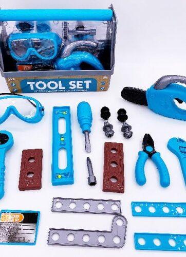 Zdjęcie Zestaw narzędzi w skrzynce 19 elementów - Askato - producenta ASKATO