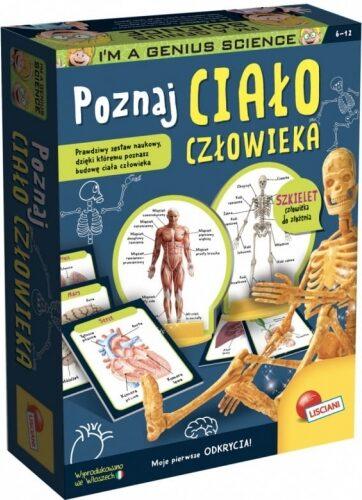Zdjęcie Zestaw naukowy Mały Geniusz Poznaj ciało człowieka - producenta LISCIANI GIOCHI