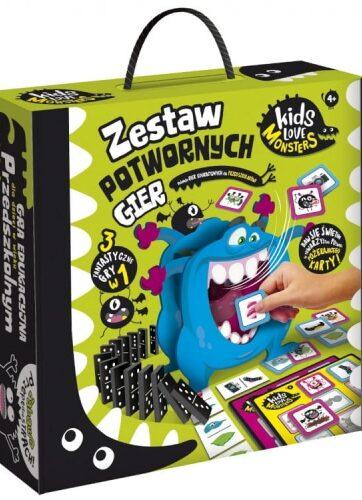 Zdjęcie Zestaw pierwszych potwornych gier Kids Love Monsters LISCIANI 82735 - producenta LISCIANI GIOCHI