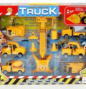 Zdjęcie Zestaw pojazdów budowlanych - producenta ADAR
