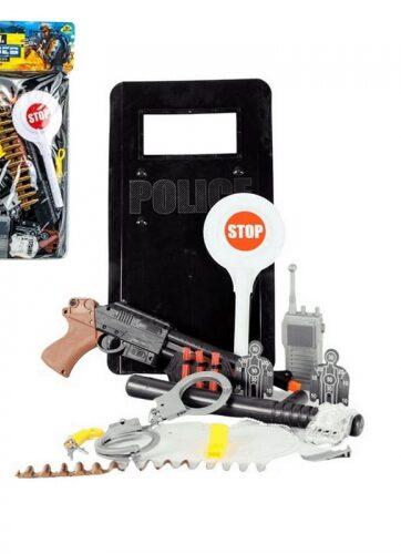 Zdjęcie Zestaw policyjny z tarczą dla dzieci do zabawy - producenta NORIMPEX