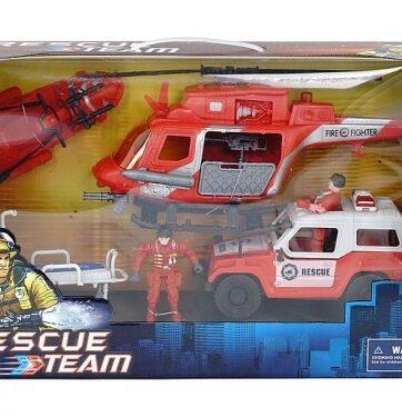 Zdjęcie Zestaw straż pożarna z pojazdami - producenta ADAR