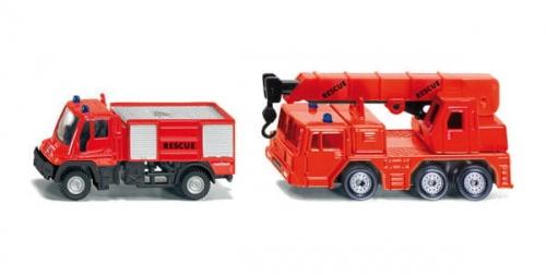 Zdjęcie Zestaw strażacki SIKU 1661 - producenta SIKU