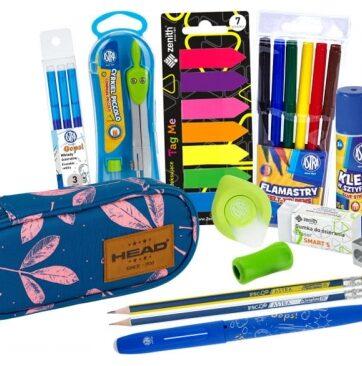 Zdjęcie Zestaw szkolny dla dziewczynki piórnik + wyposażenie - producenta ASTRA