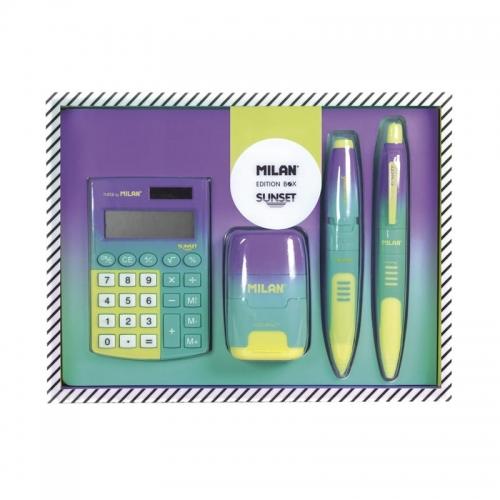 Zdjęcie Zestaw szkolny kalkulator