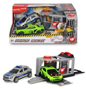 Zdjęcie Zestaw więzienie + dwa samochody - DICKIE - producenta DICKIE