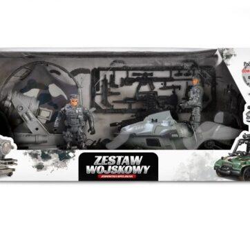 Zdjęcie Zestaw wojskowy z pojazdami i figurkami - producenta ARTYK