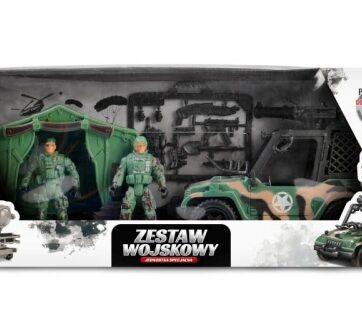 Zdjęcie Zestaw wojskowy z pojazdem 2 figurki żołnierzy - producenta ARTYK