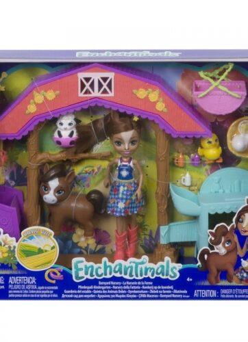 Zdjęcie Zestaw żłobek na farmie lalka i zwierzątka - Enchantimals - producenta MATTEL