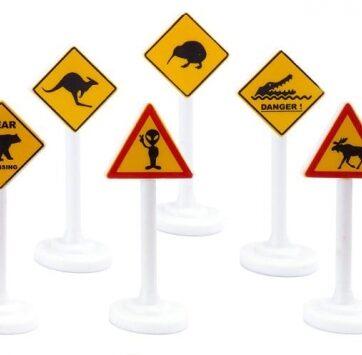 Zdjęcie Znaki drogowe międzynarodowe SIKU 0894 - producenta SIKU