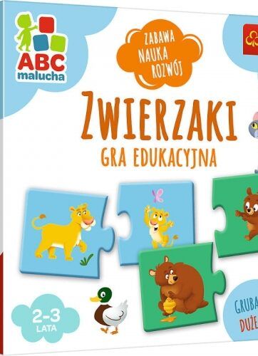 Zdjęcie Zwierzaki ABC Malucha gra edukacyjna - Trefl - producenta TREFL