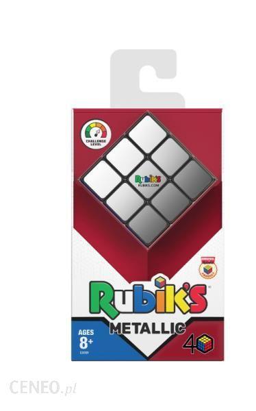 Gra planszowa Kostka Rubika 3X3 Metalik 3028 od TM_Toys