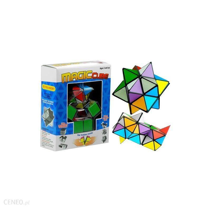 Lean Toys Układanka Logiczna Magic Cube Kostka Rubik Gwiazda od Lean_Toys