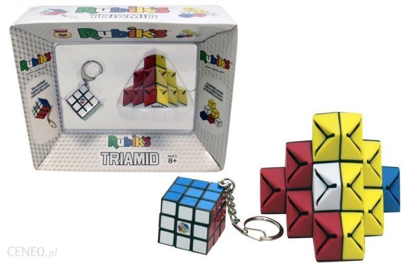 TM Toys Rubik Kostka Brelok+Układanka Triamid od Tm_Toys