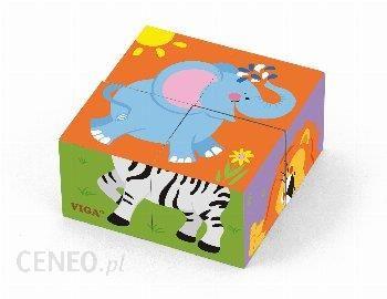 Viga Zoo Puzzle Drewniane (50836) od Viga